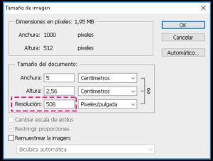 Cómo comprobar la resolución de una imagen a tamaño de impresión