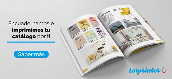 Encuadernamos a imprimimos tu catálogo por ti